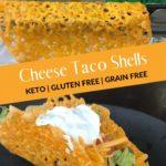 Keto Cheese Taco Shells pin 2