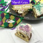 Keto Mardi Gras King Cake Pin 1
