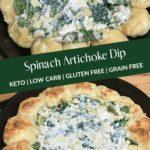 Keto Spinach Artichoke Bread Ring Dip Pin 2