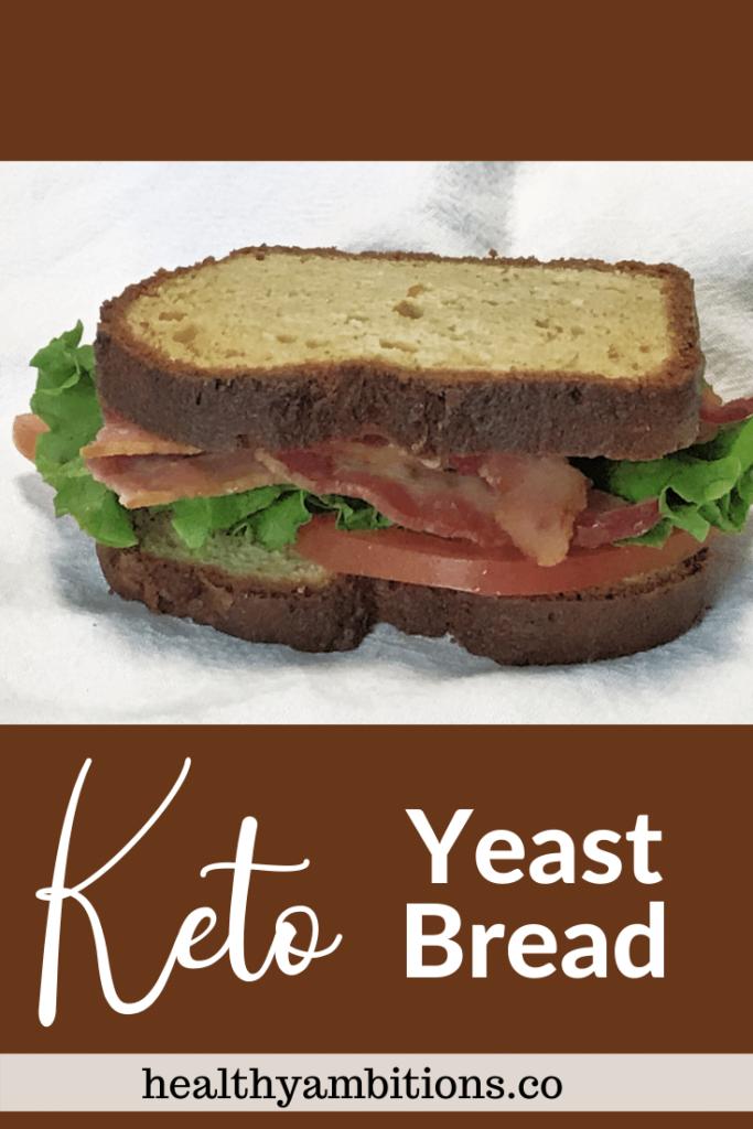 Keto Yeast Bread Pin 2