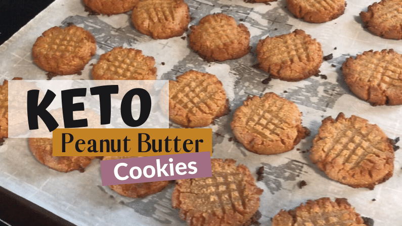The Absolute Best Keto Peanut Butter Cookies feature photo