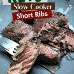 Slow Cooker Short Ribs pin 1