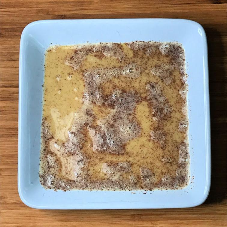 Keto French Toast egg wash