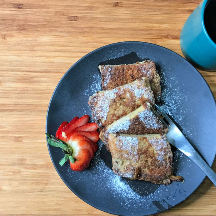 Keto French Toast recipe card