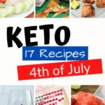 17 of the Best Keto Recipes for 4th of July pin 1