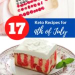 17 of the Best Keto Recipes for 4th of July pin 2