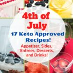 17 of the Best Keto Recipes for 4th of July pin 4