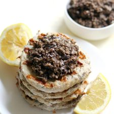 Grilled-Chicken-Burgers-with-Black-Olive-Tapenade