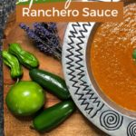 The Best Ranchero Sauce pin 1