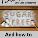 Keto-Approved Low Carb Sweeteners pin 3