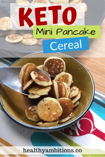 Keto Mini Pancake Pin 1