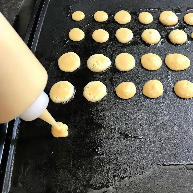 keto mini pancake griddle