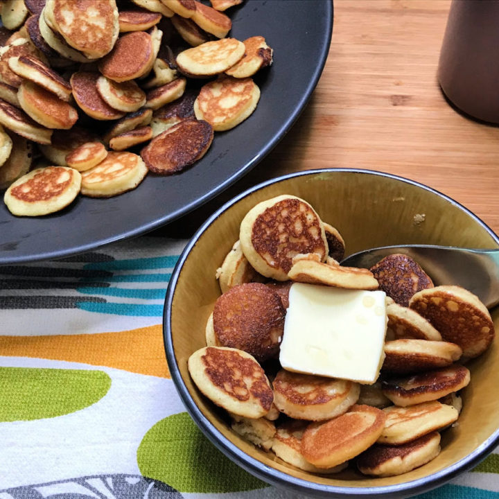 Keto Mini Pancake Recipe Card