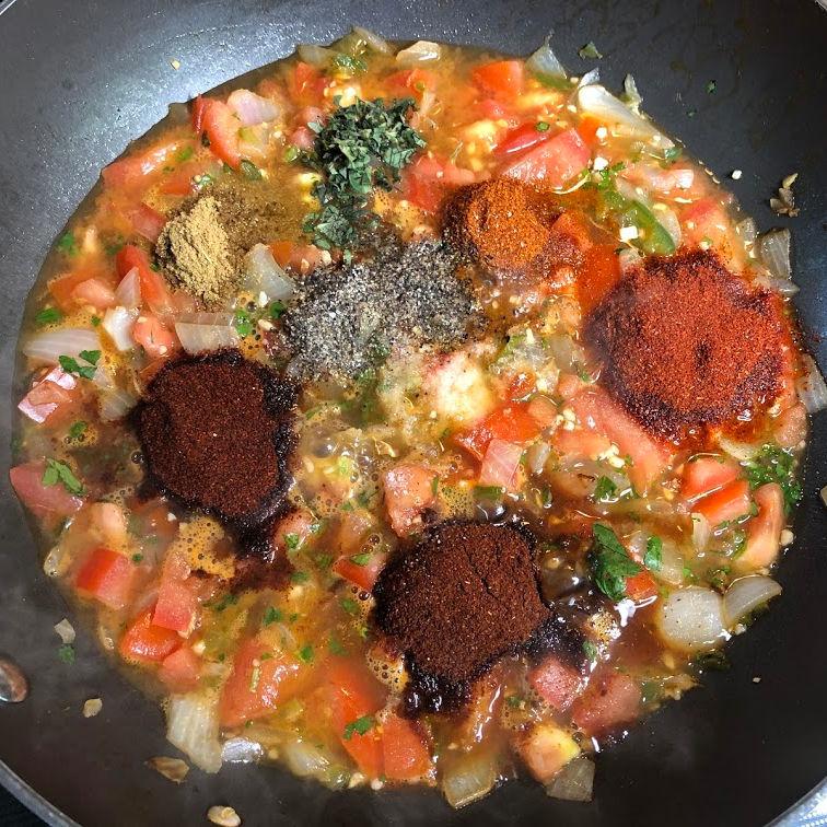ranchero sauce spices