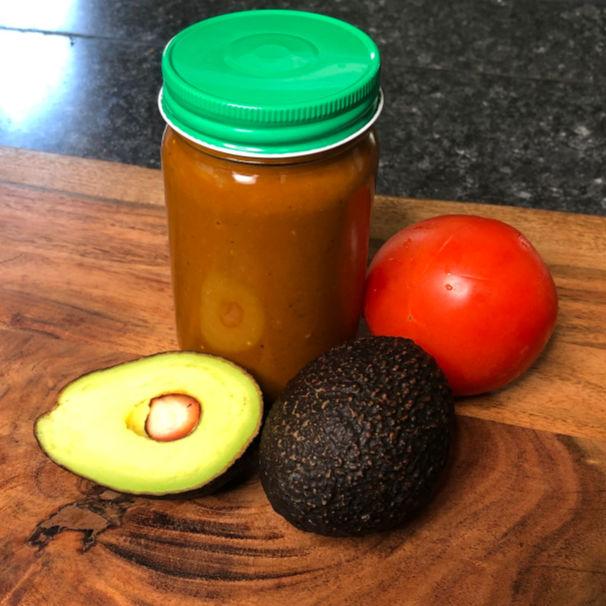 ranchero sauce in a jar