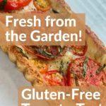 Gluten Free Provencal Tomato Tart pin 2