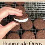 Homemade Oreo Cookies - Keto and Low Carb pin 2