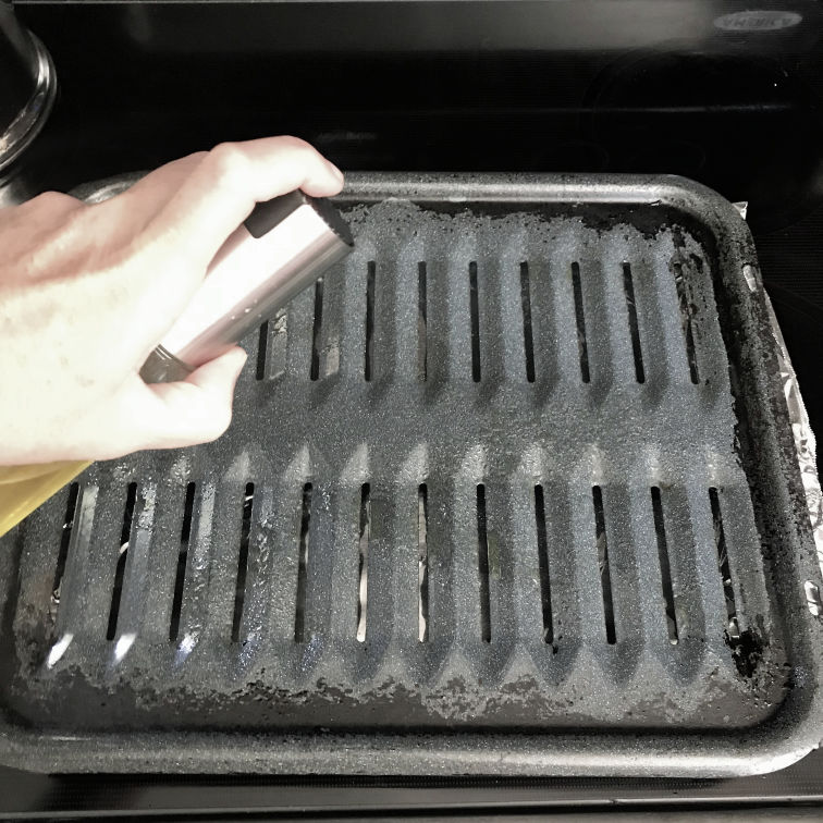 baked chicken spray broiling pan