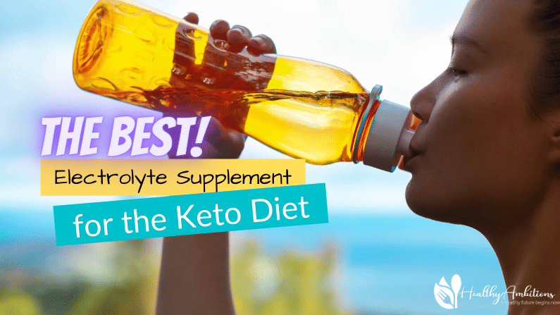 The Best Electrolyte Supplement for the Keto Diet feature photo