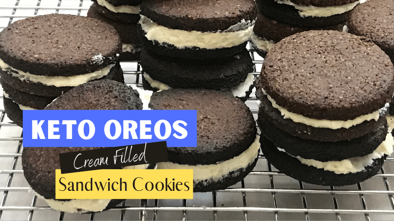 Homemade Oreo Cookies - Keto and Low Carb Feature Photo