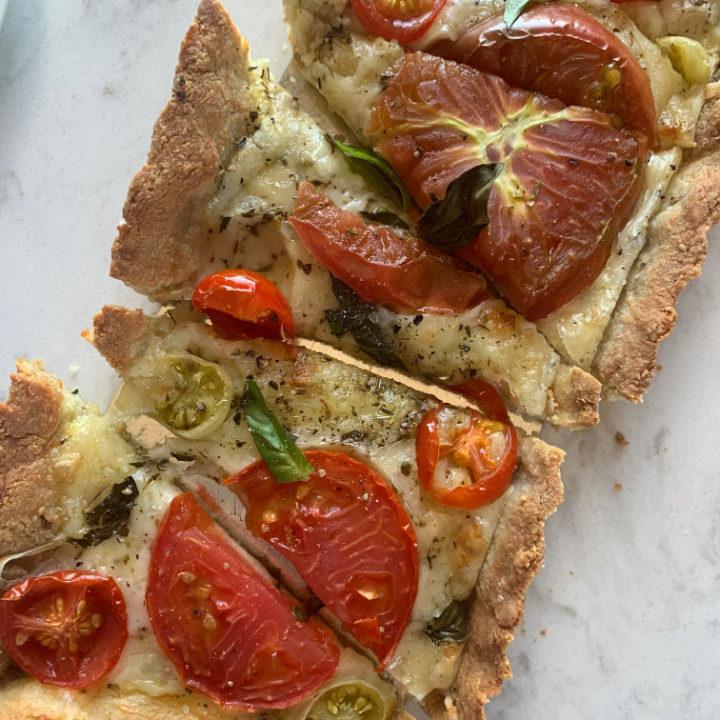 Gluten-Free Provencal Tomato Tart