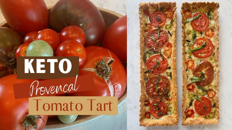 Gluten Free Provencal Tomato Tart feature photo