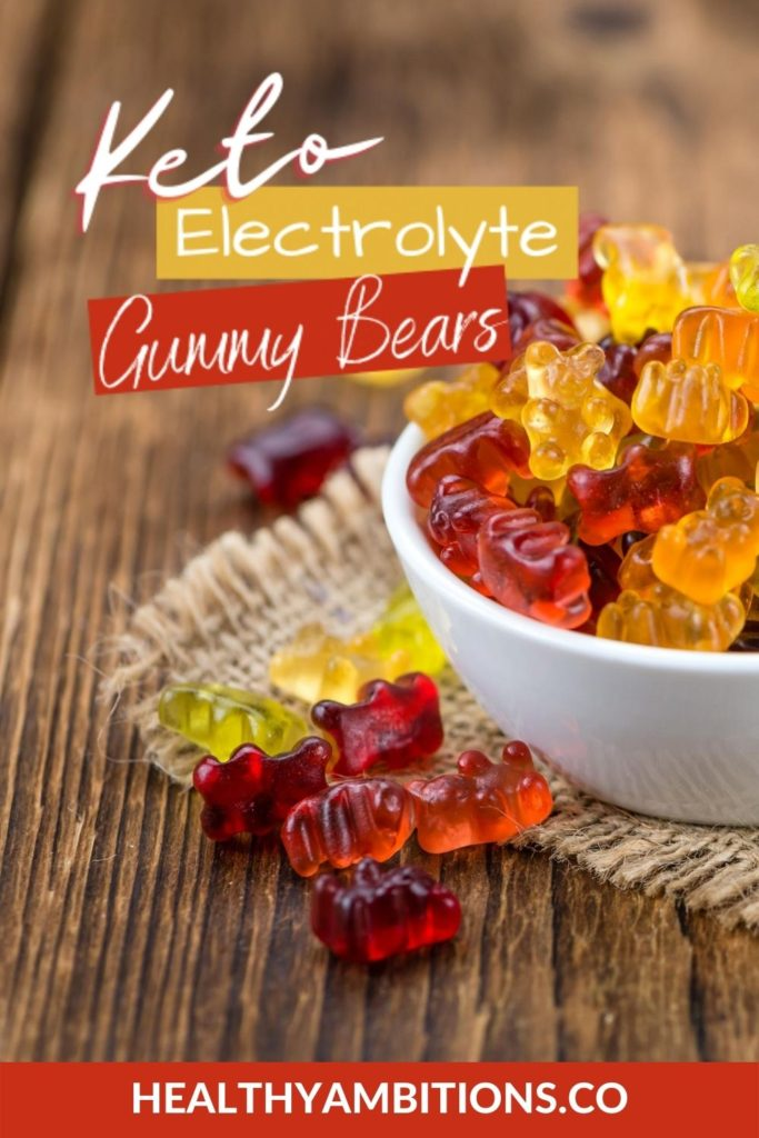 Homemade Electrolyte Gummies with Key Nutrients