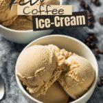 Sugar-Free Coffee Ice Cream