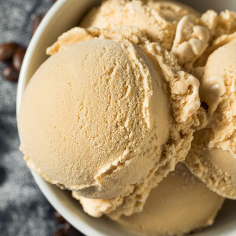 Keto Dessert Roundup Sugar-Free Coffee Ice Cream