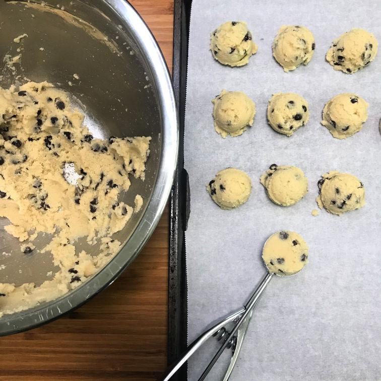 Keto Diet 101 cookie dough fat bomb