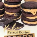Keto Peanut Butter Oreo Cookies