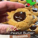 Keto Peanut Butter Blossoms