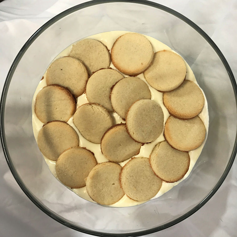 Keto Dessert Roundup Keto Banana Pudding layered