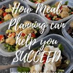 Meal Planning for Keto Success pin