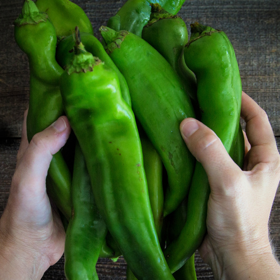Hatch Green Chiles for Mexican Chicken