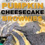 keto pumpkin cheesecake brownies