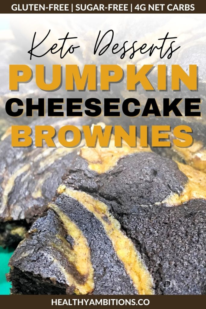 Chocolate Pumpkin Cheesecake Brownies Pinterest