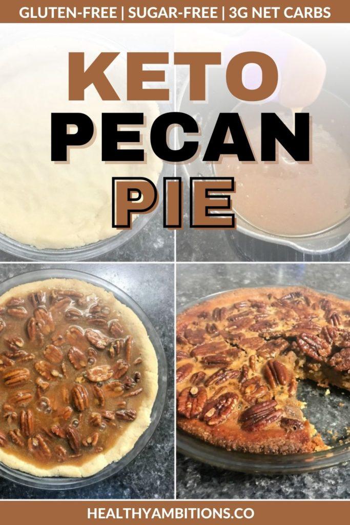 Keto Pecan Pie recipe