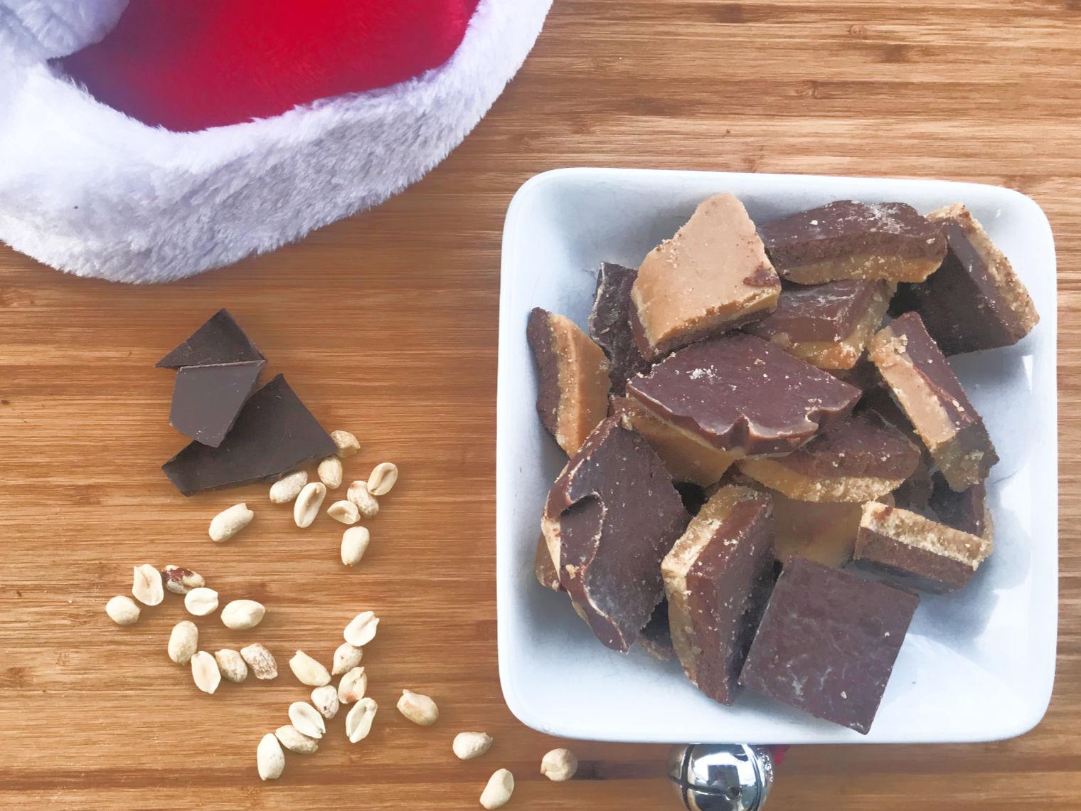 Keto Chocolate Peanut Butter Fudge