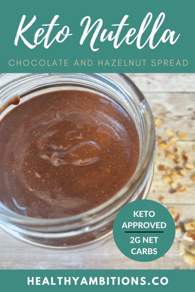 Keto Nutella Spread recipes
