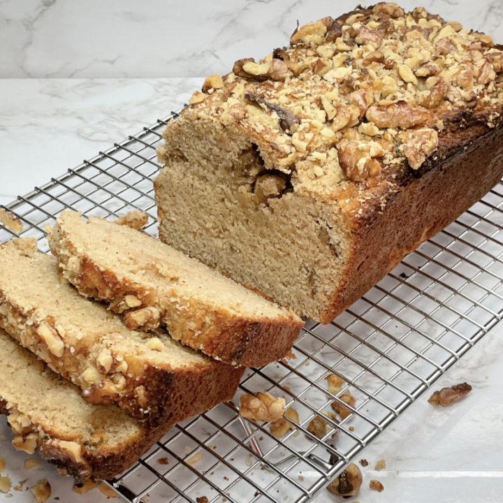 Keto Banana Bread Feature Photo