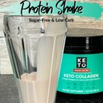 Keto Chocolate Peanut Butter Protein Shake Pin