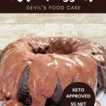 Keto Devil's Food Cake