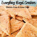 Everything Bagel Keto Crackers vertical pin