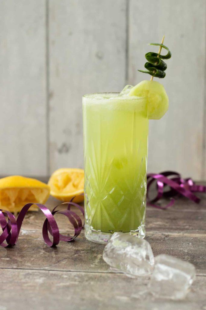 Best Keto Alcohol Drinks Summer Cucumber Tom Collins