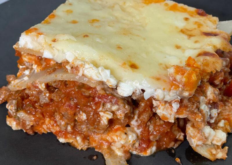 Easy Keto Palmini Lasagna