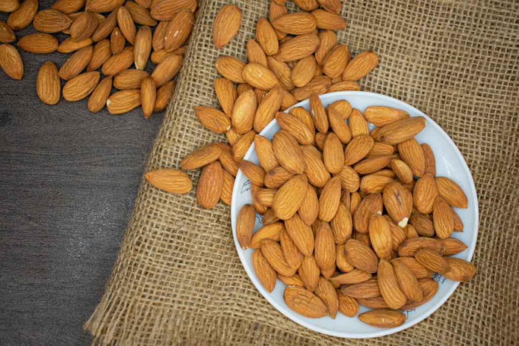 Keto Pantry Staples Almonds