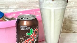 Sugar Free Root Beer Float recipe card