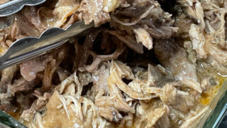 Keto Slow Cooker Pulled Pork feature photo