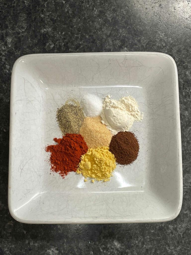 Keto Slow Cooker Pulled Pork spices